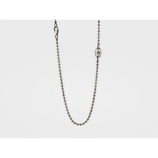 Branded Silver Ball Chain (2mm)