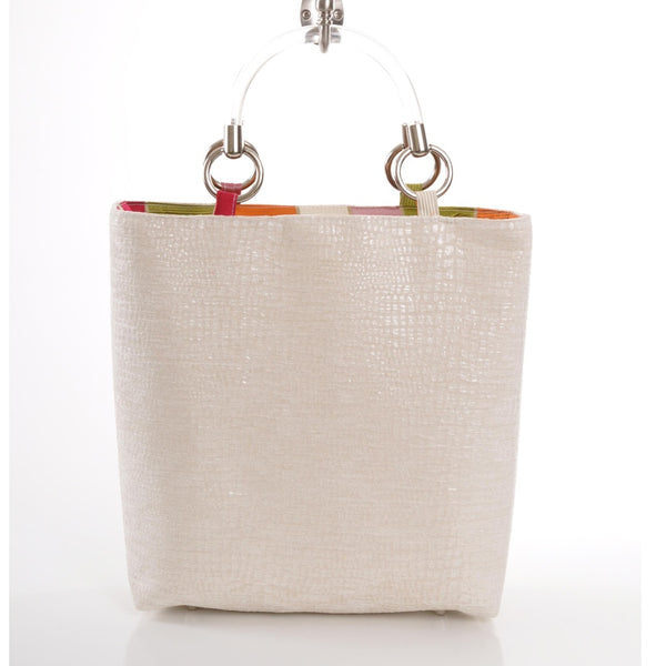 Boa Cream Small Tote