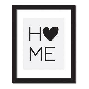 Inspirational quote print 'Home'
