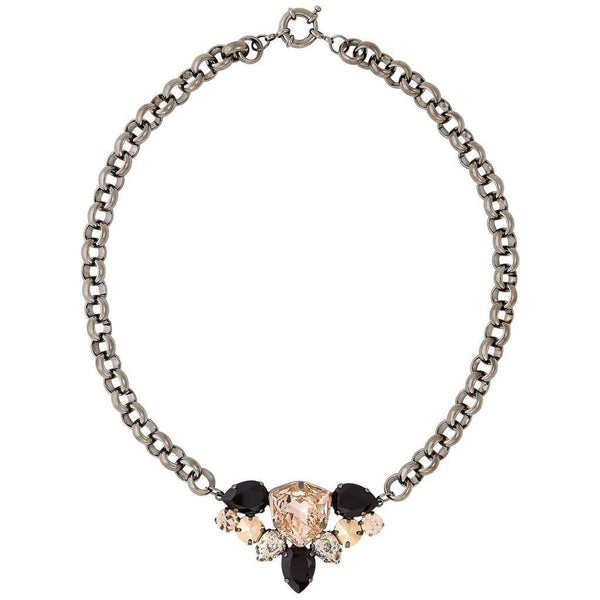 Statement Feature Necklace in Swarovski Crystal