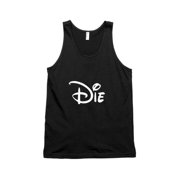 Die Cartoon Typography Unisex Tank Top