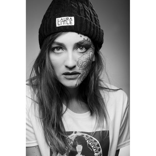 Black Beanie - Laura Little Brand