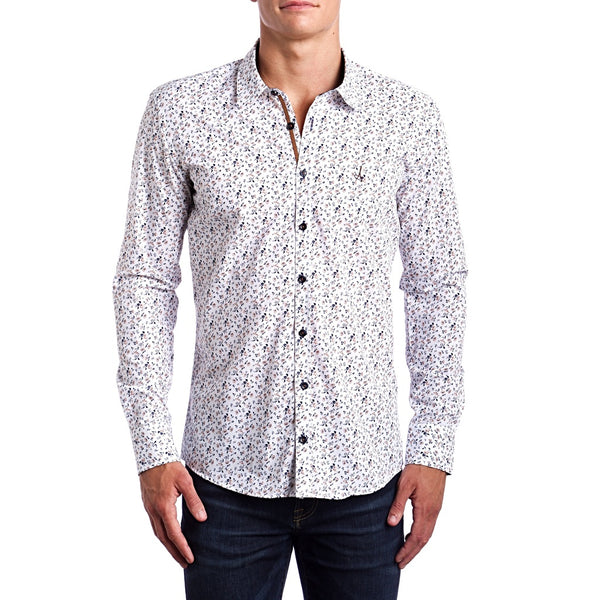 Natural Casual Slim Fit Dress Shirt