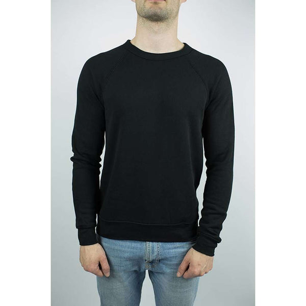 The Night Bay Raglan Sweater in Black