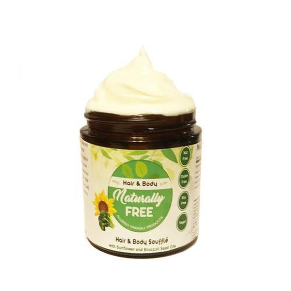 Hair & Body Moisturizer Souffle w/ Sunflower and Broccoli