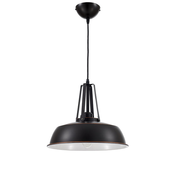 Ohr Lighting® Valley Grange Pendant, Black (OH113)