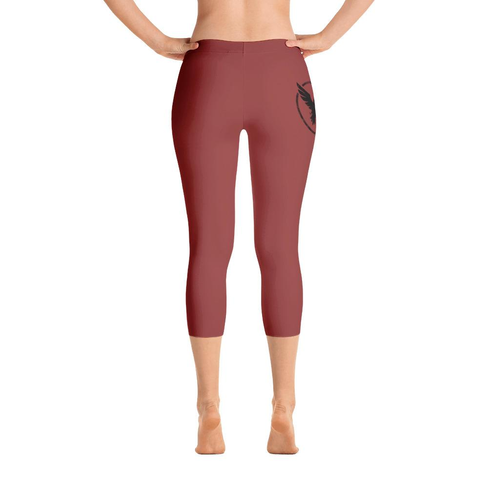 All Day Comfort Capri Leggings Pacific Supply II Brick