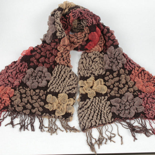Boho Chic Patchwork Scarves