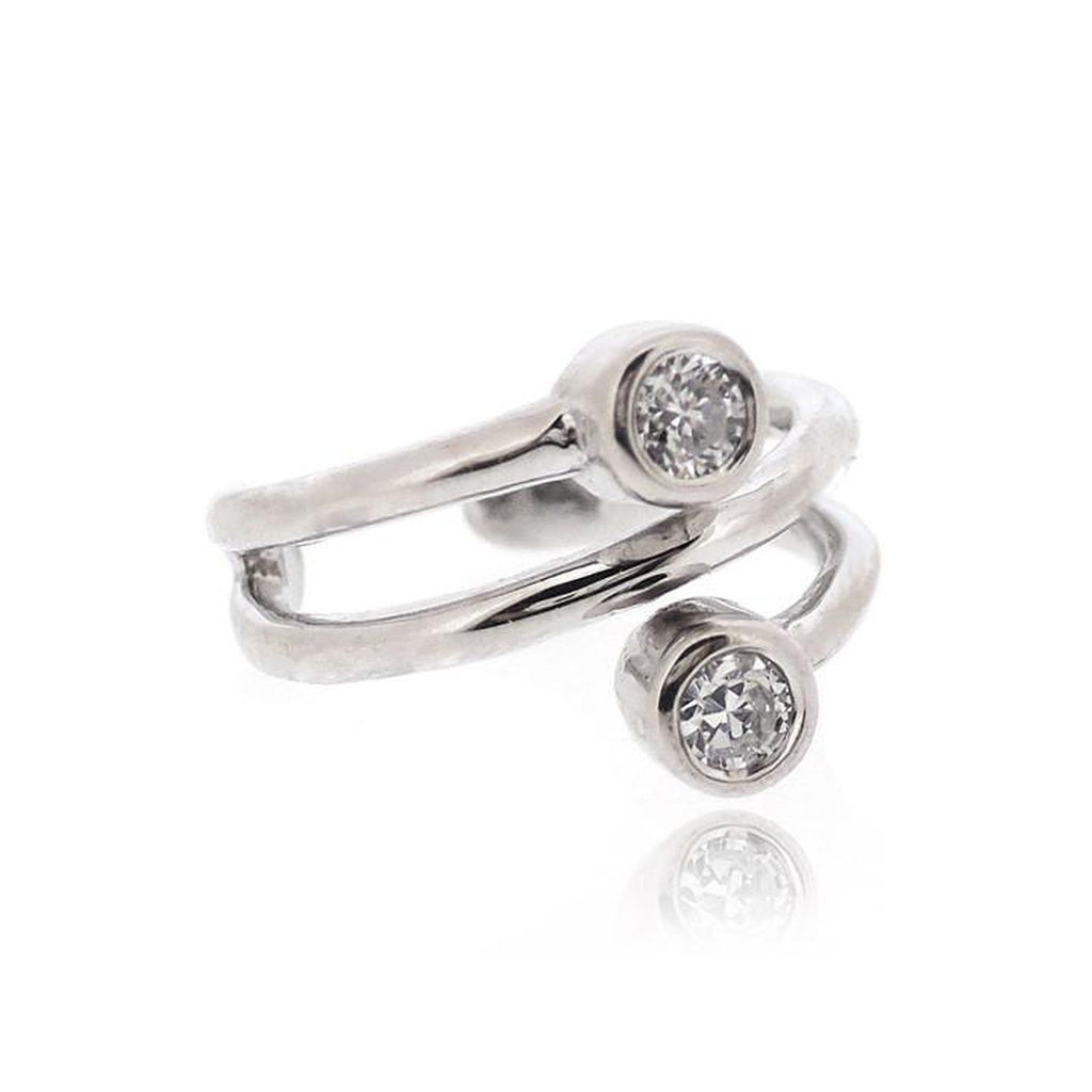 EAR CUFF CZ PARALLEL