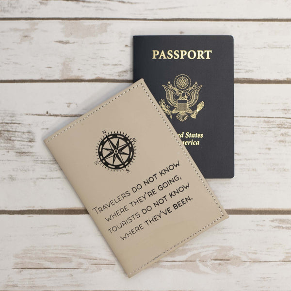 Travelers And Tourist Passport Cover Wallet