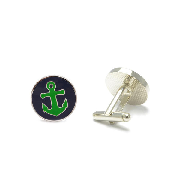 Anchor Cufflinks - Port & Starboard