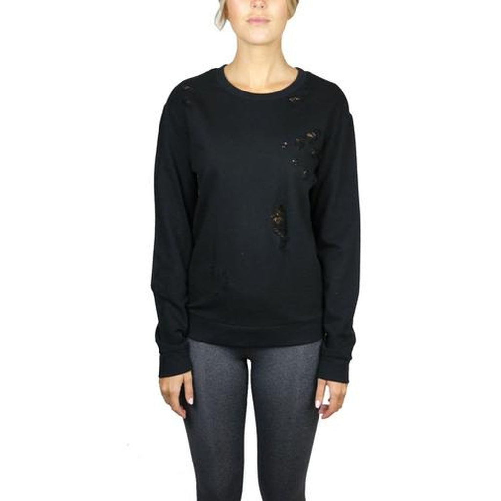 218004 BALANCE DISTRESSED PULLOVER