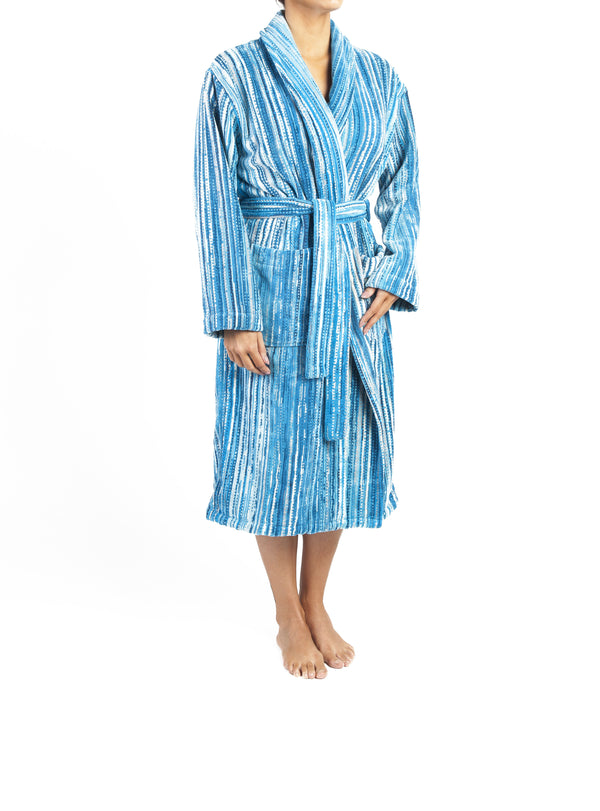 Blue Grass Bath Robe