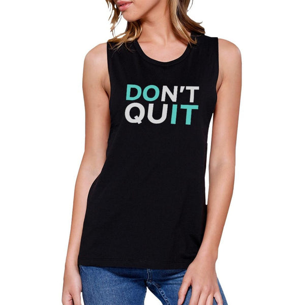 Do It Work Out Muscle Tee Women's Workout Tank Gym Sleeveless Top