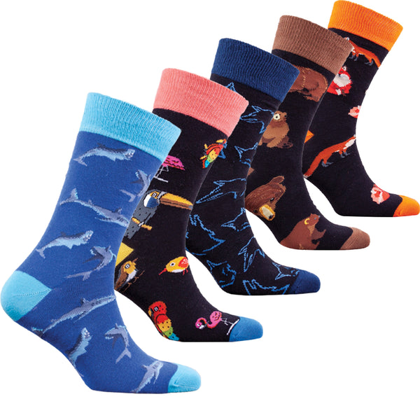 Men's Wild Animals Socks