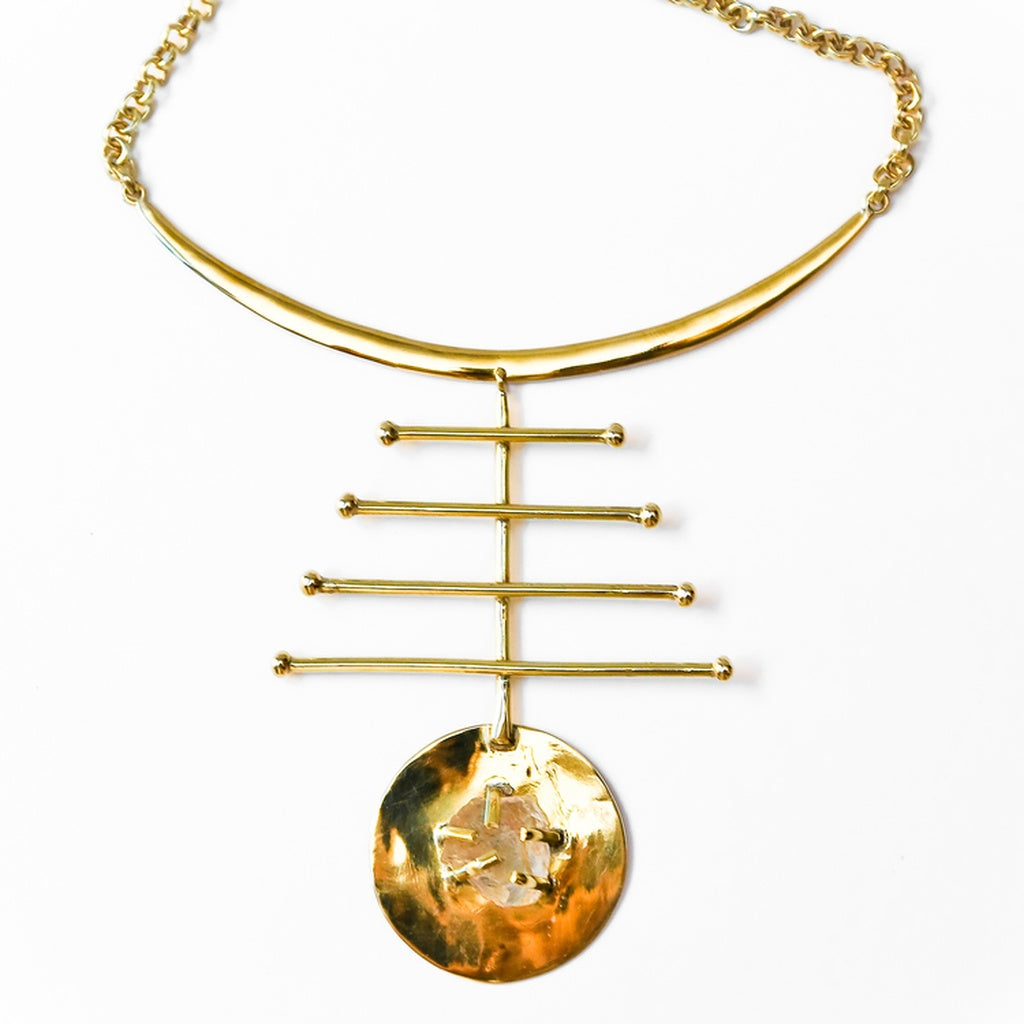 Asteroid  necklace