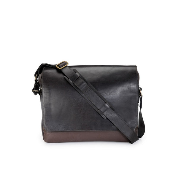 Phive Rivers Men's Brown Messenger Bag-PR1133