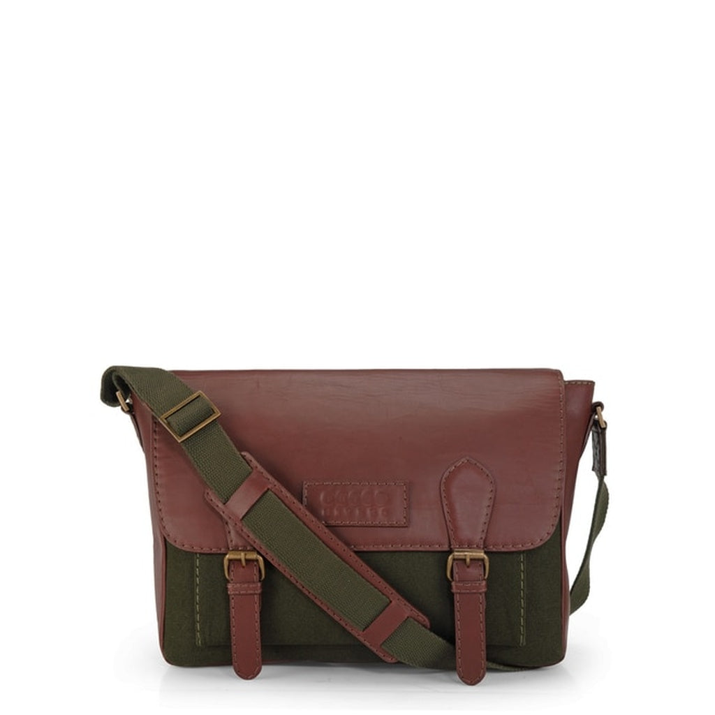 Phive Rivers Men's Green Messenger Bag-PR1113
