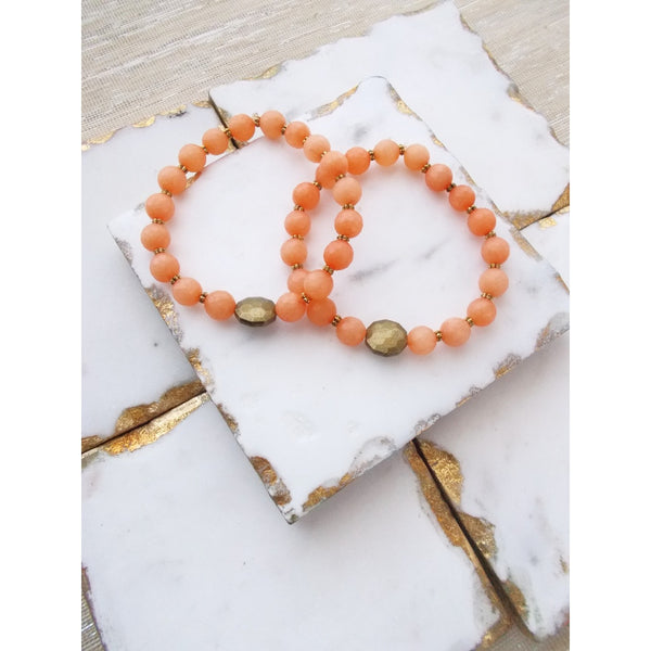 8631JB.b - Demi Bracelet in Peach