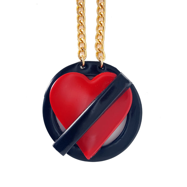 No Love Allowed Necklace