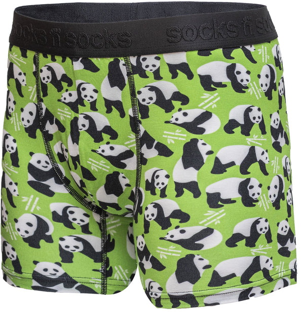 Men's Silly Panda Boxer Brief