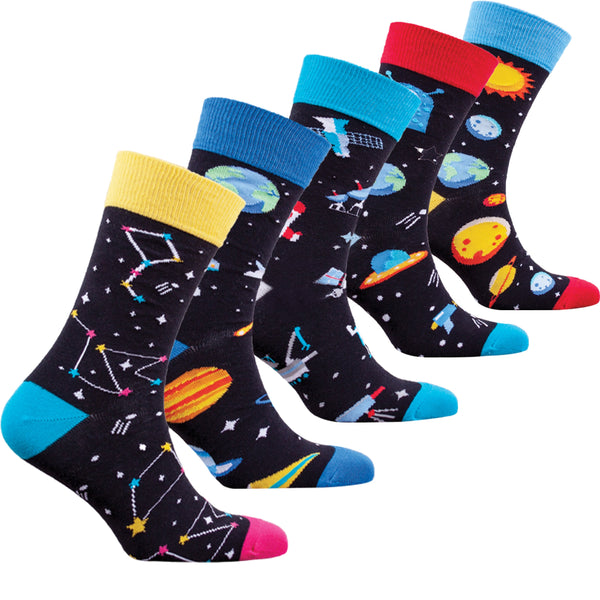Men's Outer Space Socks