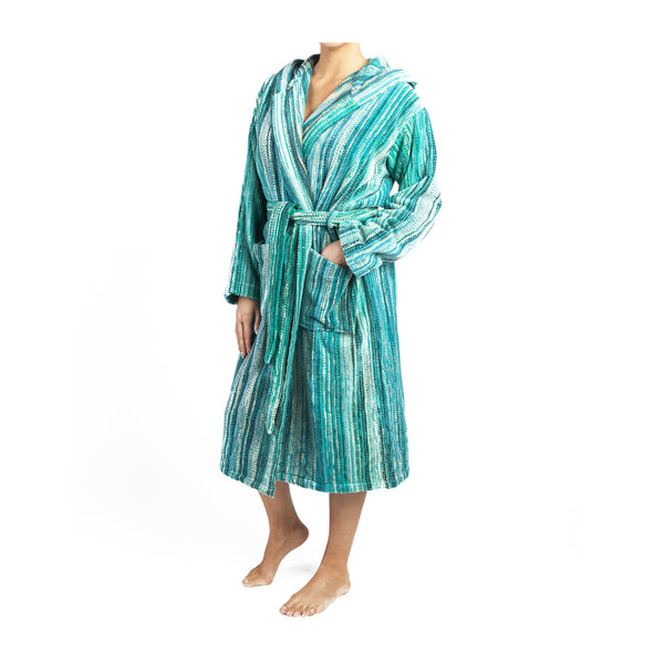 Green Grass Bath Robe