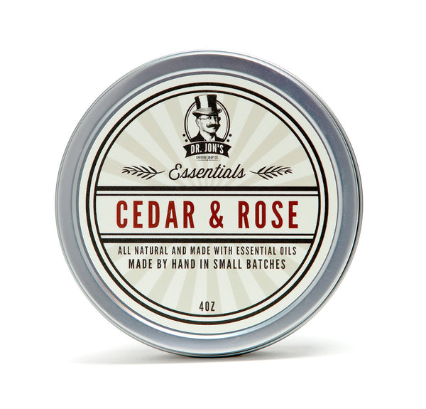 Dr. Jon's Essentials Cedar & Rose Shaving Soap