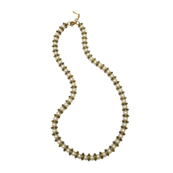 Cindy Necklace in Pearls