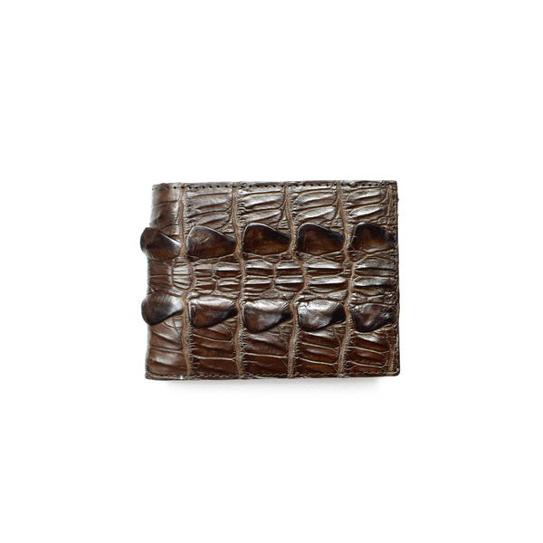 Genuine Exotic Crocodile skin wallet #0013