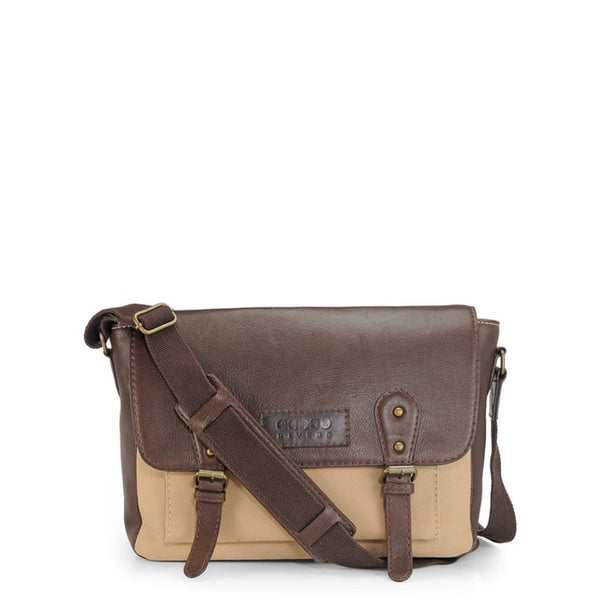 Phive Rivers Men's Khaki Messenger Bag-PR1111