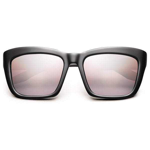 Bonnie: Polished Black / Rose Gradient Lens