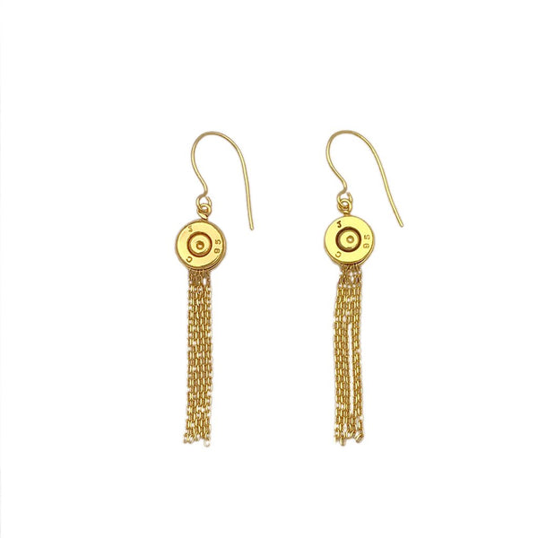 Bullet Tassel Earrings