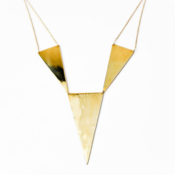 Paragon triad necklace