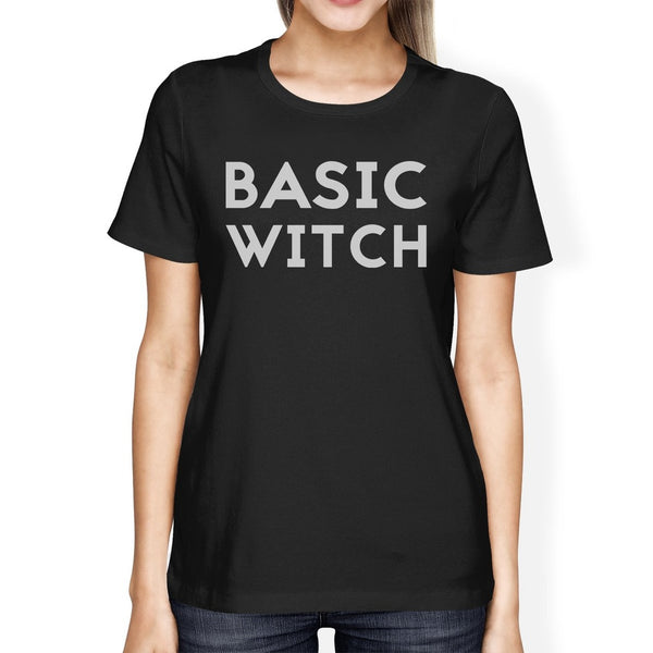Basic Witch Womens Black Shirt