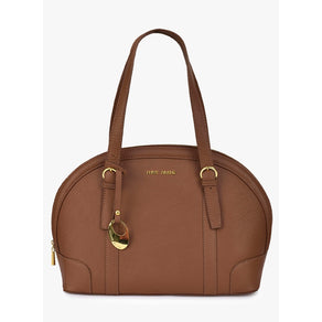 Phive Rivers Women's Leather Shoulder Bag (Tan_PR548)