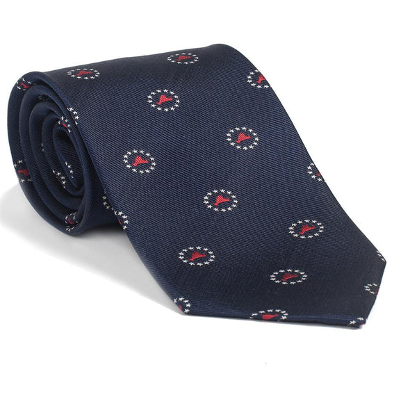 Martha's Vineyard 4th of July Necktie - Woven Silk