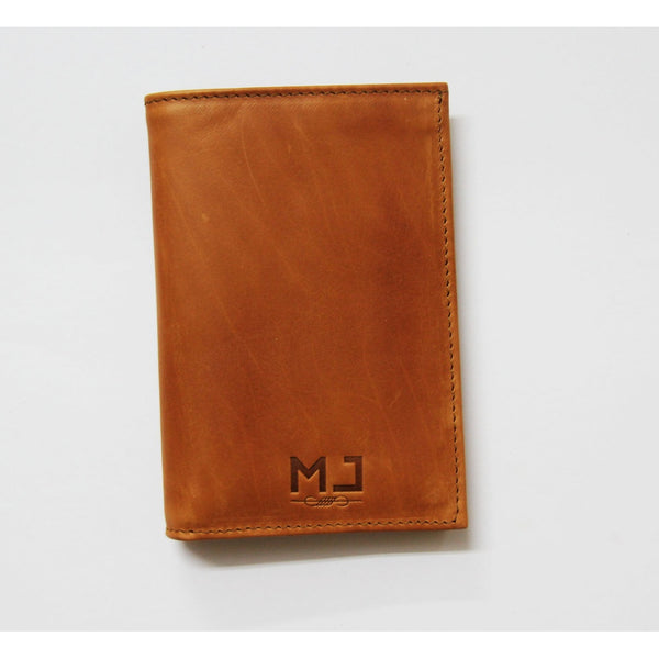 Miss Vintage - Women's brown leather wallet