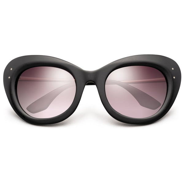 Faye: Matte Black - Rose Gold / Rose Gradient Lens