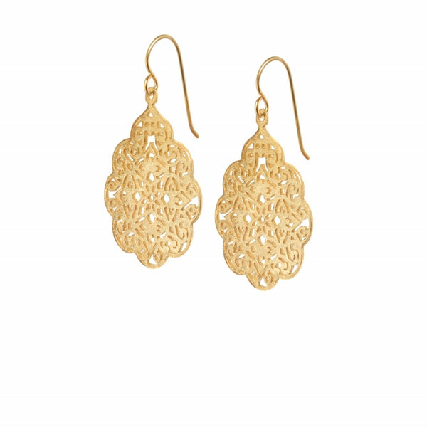 Coco earrings gold