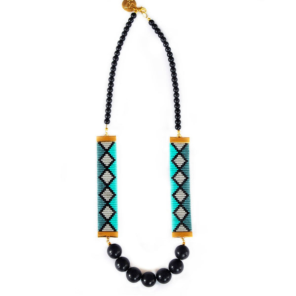 Miami Nights Necklace (Blue)