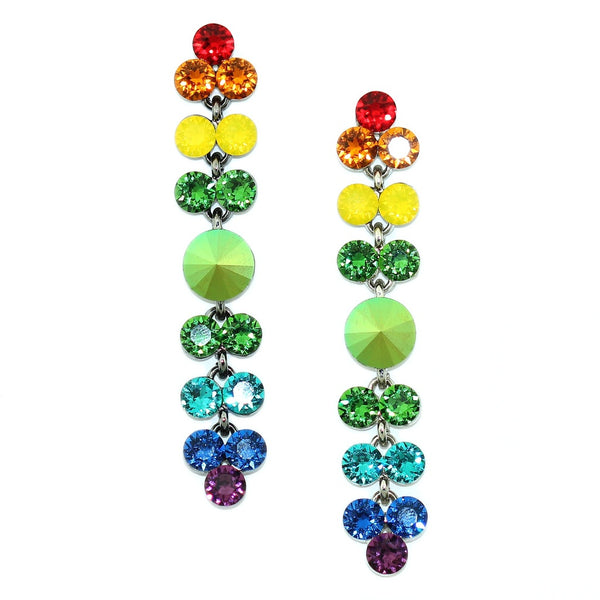 Rainbow Drop Earrings