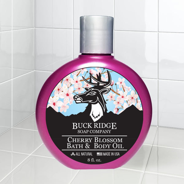 Cherry Blossom Bath and Body Oil