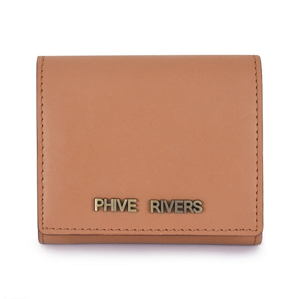 Phive Rivers Women's Tan Leather Wallet