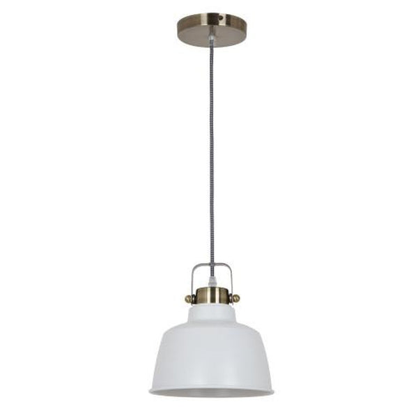 Ohr Lighting® Industrial Bestia Pendant, Matte White (OH127)