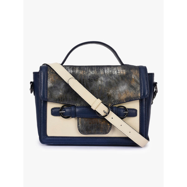 Phive Rivers Women's Blue Leather Sling Bag