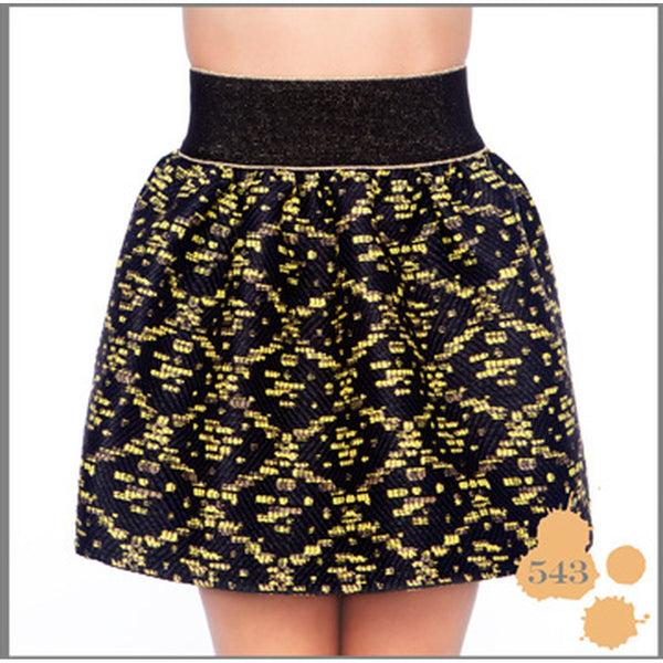 BLACK & YELLOW SKIRT MADNESS