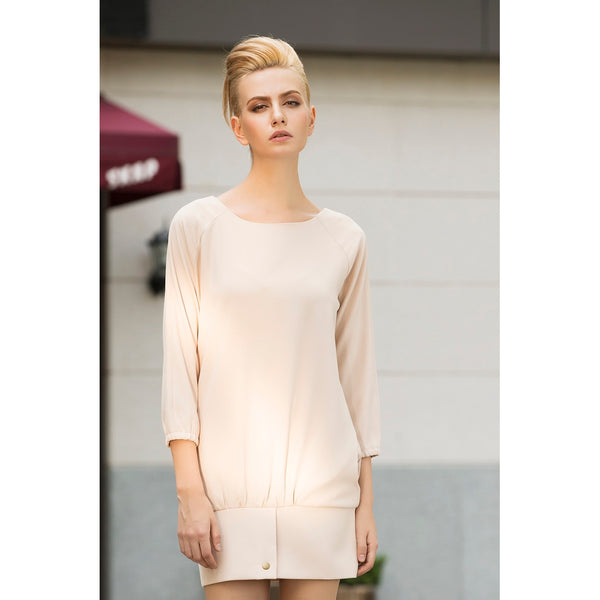 Almond Fraiche Oversized Dress