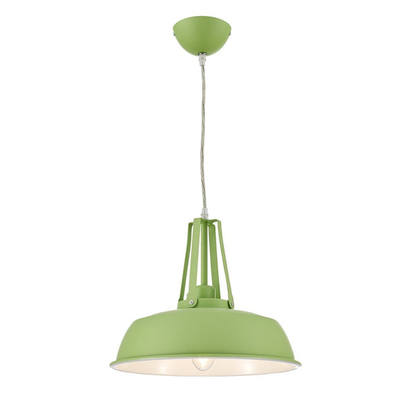 Ohr Lighting® Valley Grange Pendant, Green (OH111)