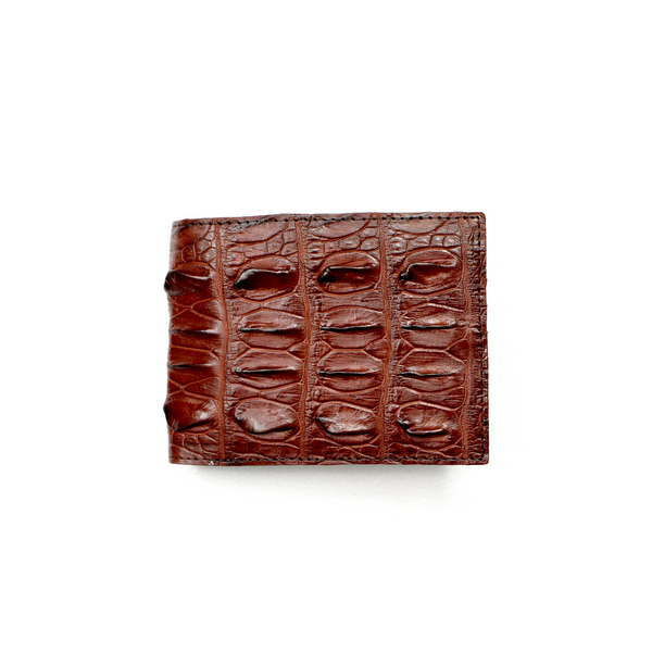 Genuine Exotic Crocodile skin wallet #0020